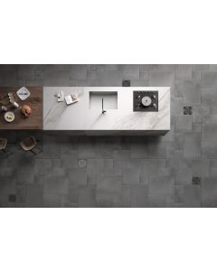 40x60 TERRA COTTA GRIGIO CHARCOAL FRENCH PATTERN R10 tile