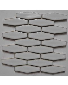 25.3x29.4x12.5 WHITE CLOUD EXTENDED HEX (FLAT) tile